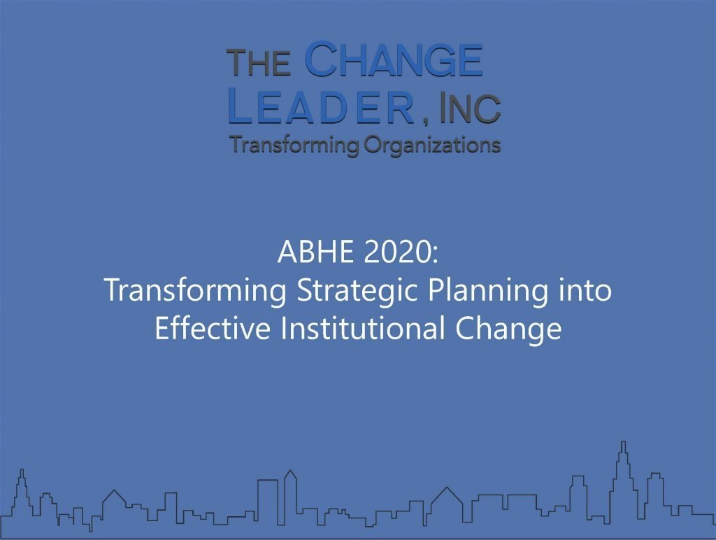 Resources For Higher Ed Leaders