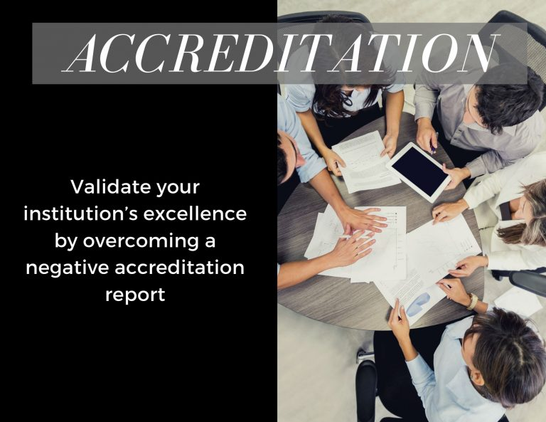 Higher ed accreditation
